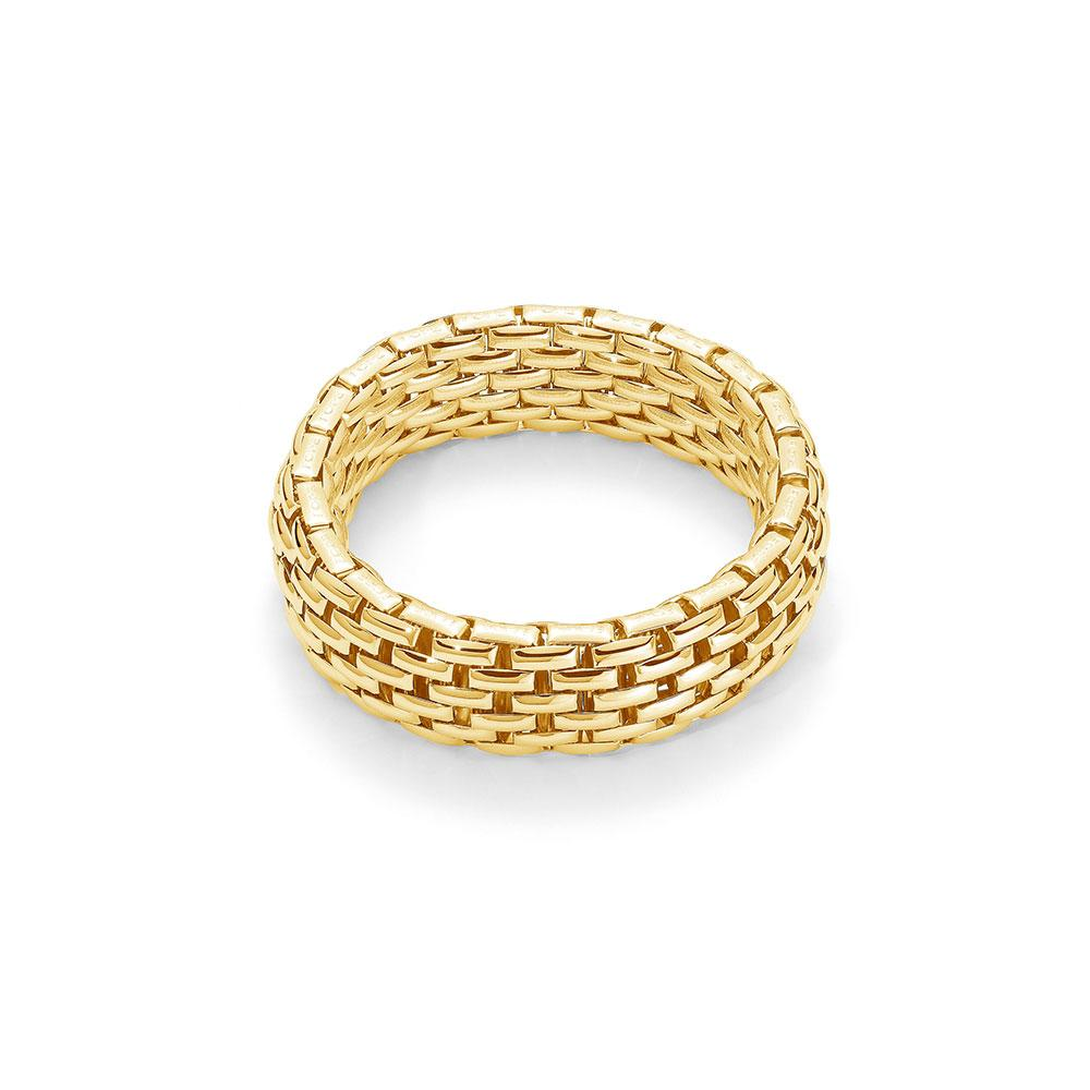 FOPE 18K Yellow Gold Thick Chain Bracelet