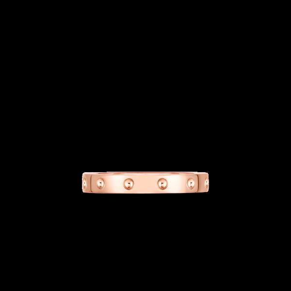 Roberto Coin 18K Rose Gold Pois Mois Band Ring