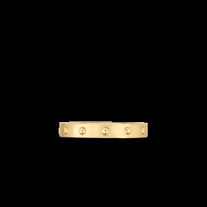 Roberto Coin 18K Yellow Gold Pois Mois Band Ring