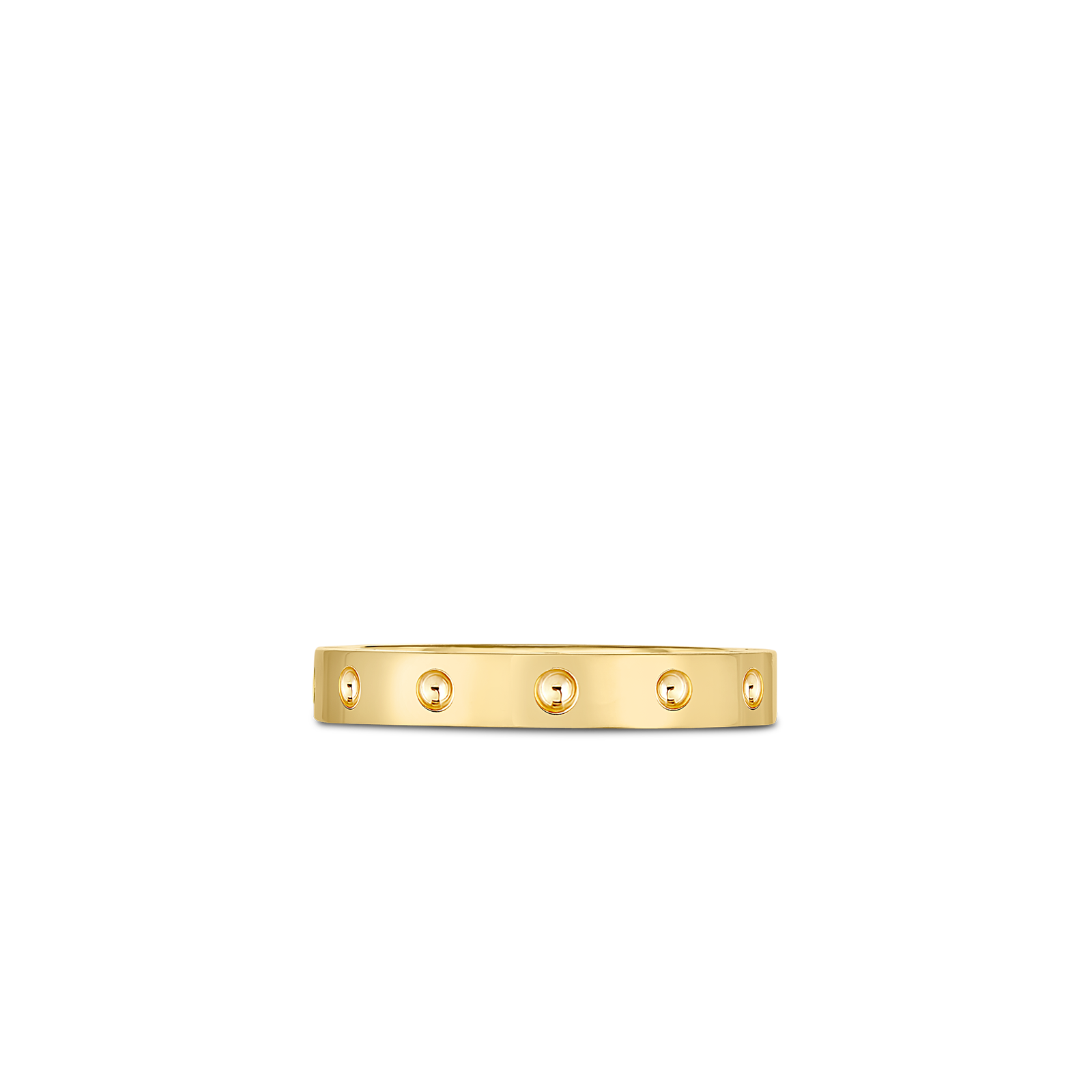Roberto Coin 18K Yellow Gold Pois Mois Band Ring
