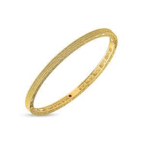 Roberto Coin 18K Yellow Gold Barocco Oval Bangle
