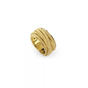 Marco Bicego Cairo 18K Yellow Gold Seven Strand Woven Ring