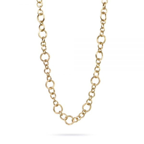 Marco Bicego Jaipur 18K Yellow Gold Link Small Gauge Convertible Necklace