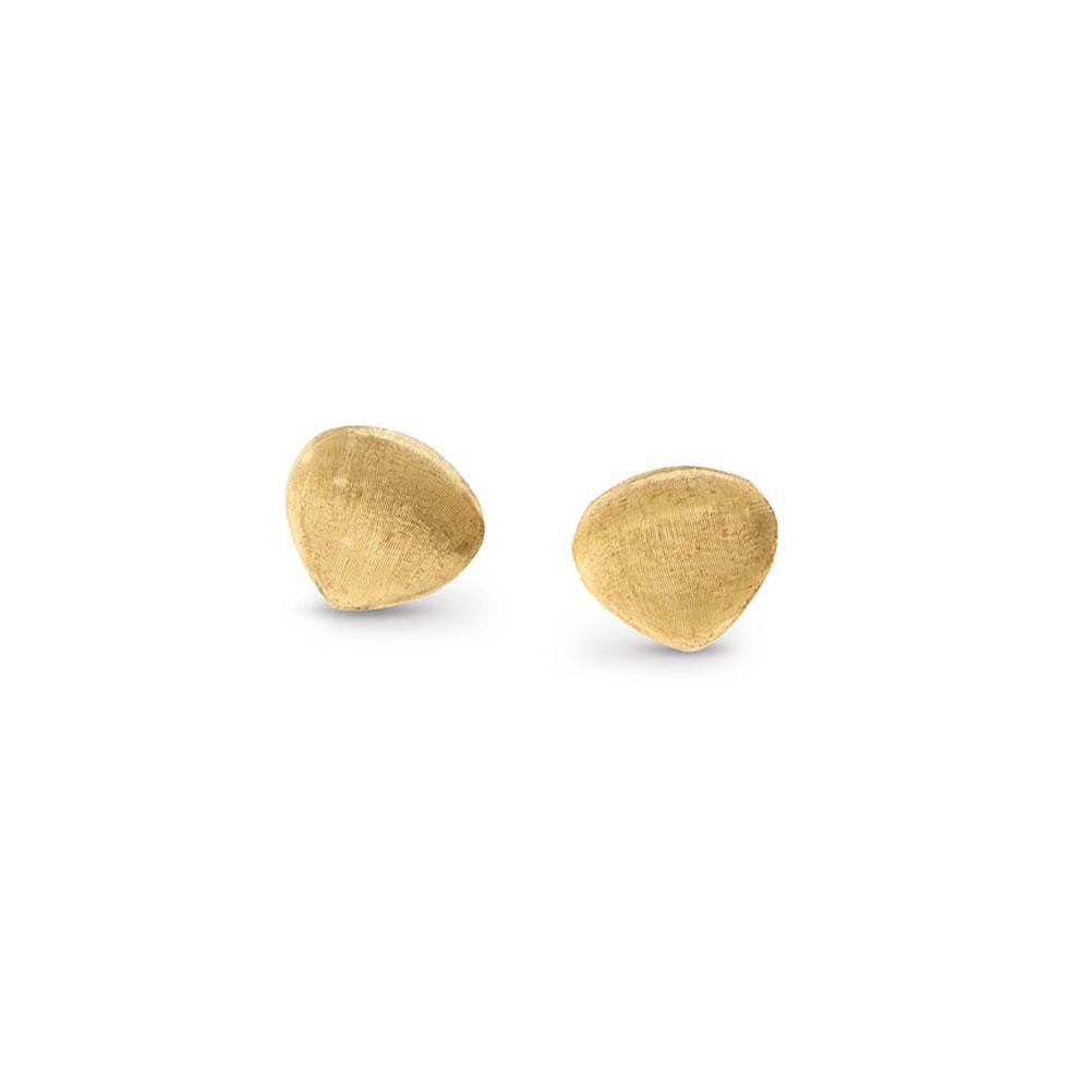 Marco Bicego Paradise 18K Yellow Gold Teardrop Stud Earrings