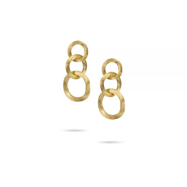 Marco Bicego Jaipur 18K Yellow Gold Link Drop Earrings