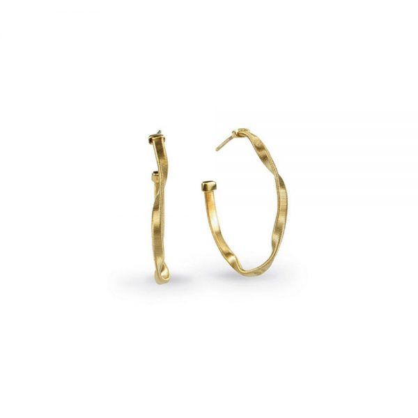 Marco Bicego Marrakech 18K Yellow Gold Small Hoop Earrings