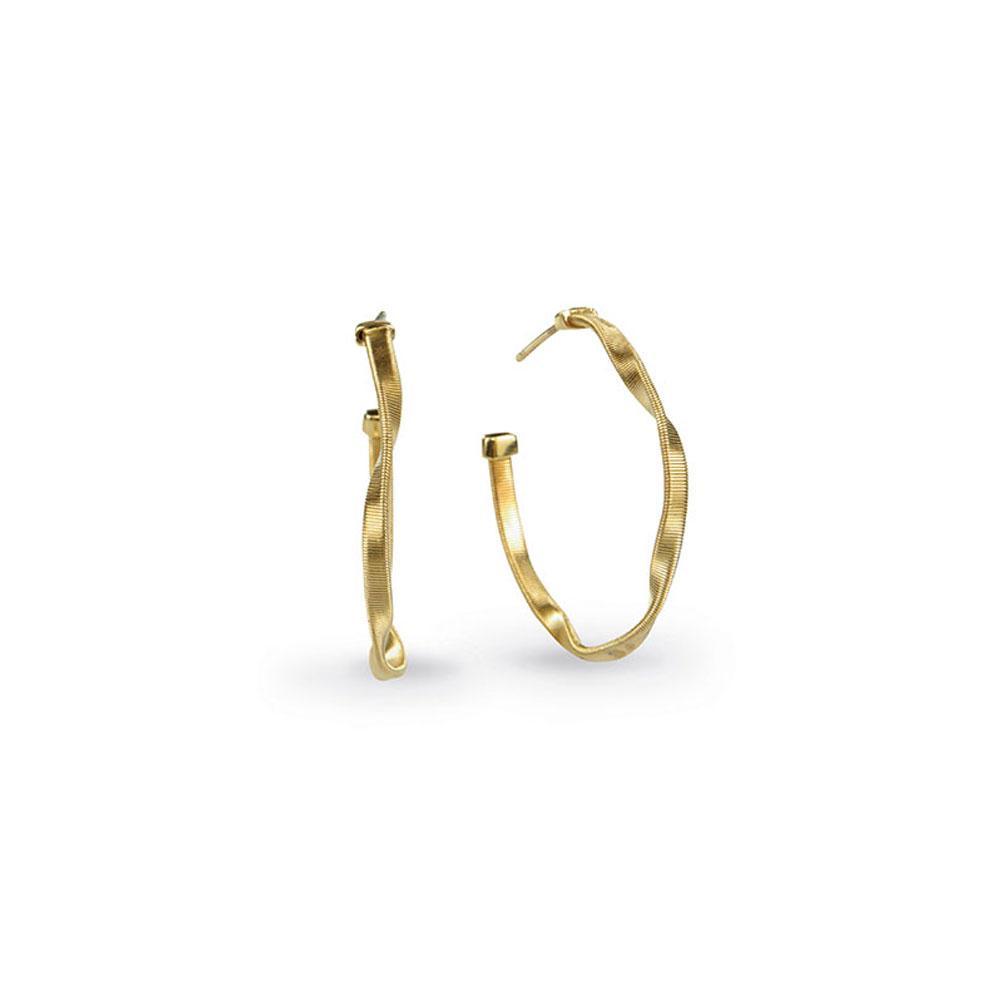 Marco Bicego Marrakech 18K Yellow Gold Small Hoop Earrings
