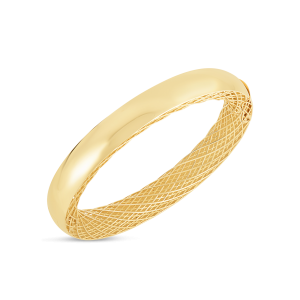 Roberto Coin 18K Gold Slim Bangle