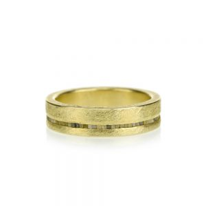 Todd Reed 18K Raw Diamond Band