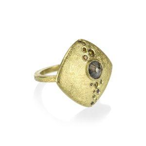 Todd Reed 18K Gold Rose Cut Autumn® Diamond Ring