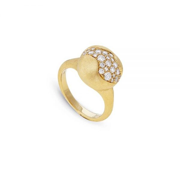 Marco Bicego 18K Africa Constellation Medium Diamond Ring