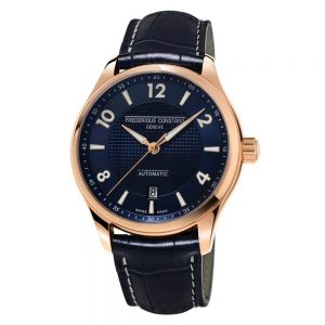 Frederique Constant Runabout Automatic Rose Gold and Navy