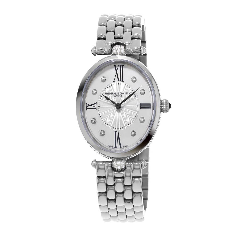 Frederique Constant Classic Art Deco With Diamonds on Dial