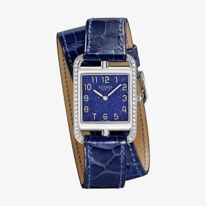 Hermès Cape Cod Watch With Lapis Lazuli Dial
