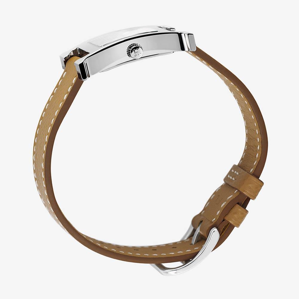 Hermès Heure H Watch Gold Epsom Calfskin Strap