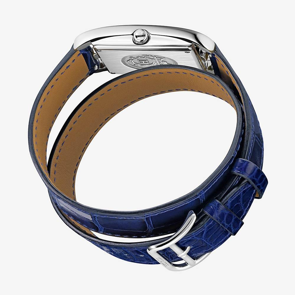 Hermès Cape Cod Watch With Lapis Lazuli Dial