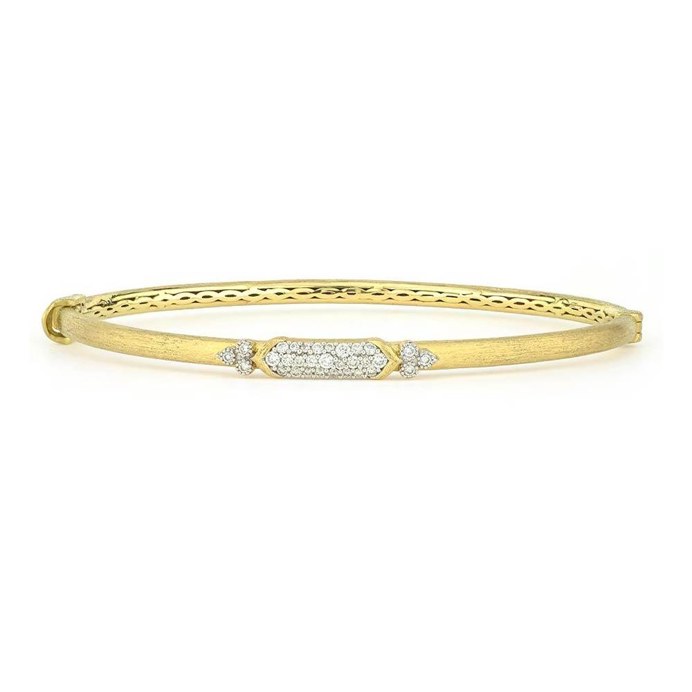 Jude Frances Moroccan Marrakesh Simple Pave Bangle