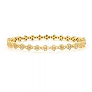 Jude Frances Provence Continuous Diamond Quad Bangle