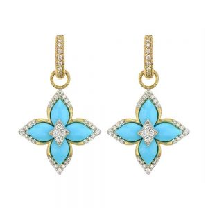 Jude Frances Moroccan Flower Earring Charms
