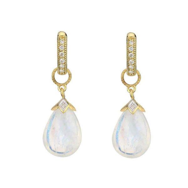Jude Frances Pear Shape Briolette Earring Charms