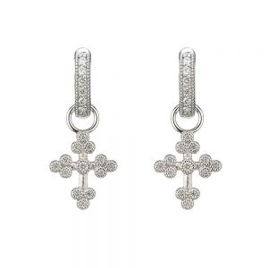 Jude Frances Tiny Provence Charms 18K White Gold