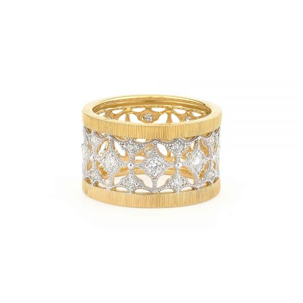 Jude Frances Lacey Band 18K Yellow Gold