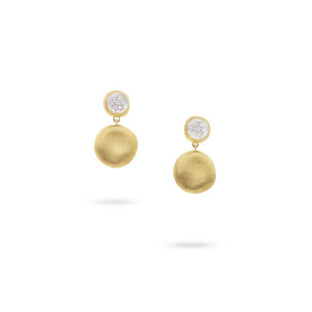 Marco Bicego 18K Yellow Gold Diamond Small Drop Earrings