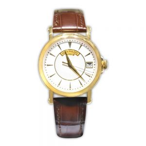 Patek Philippe Calatrava 38mm, Leather Strap