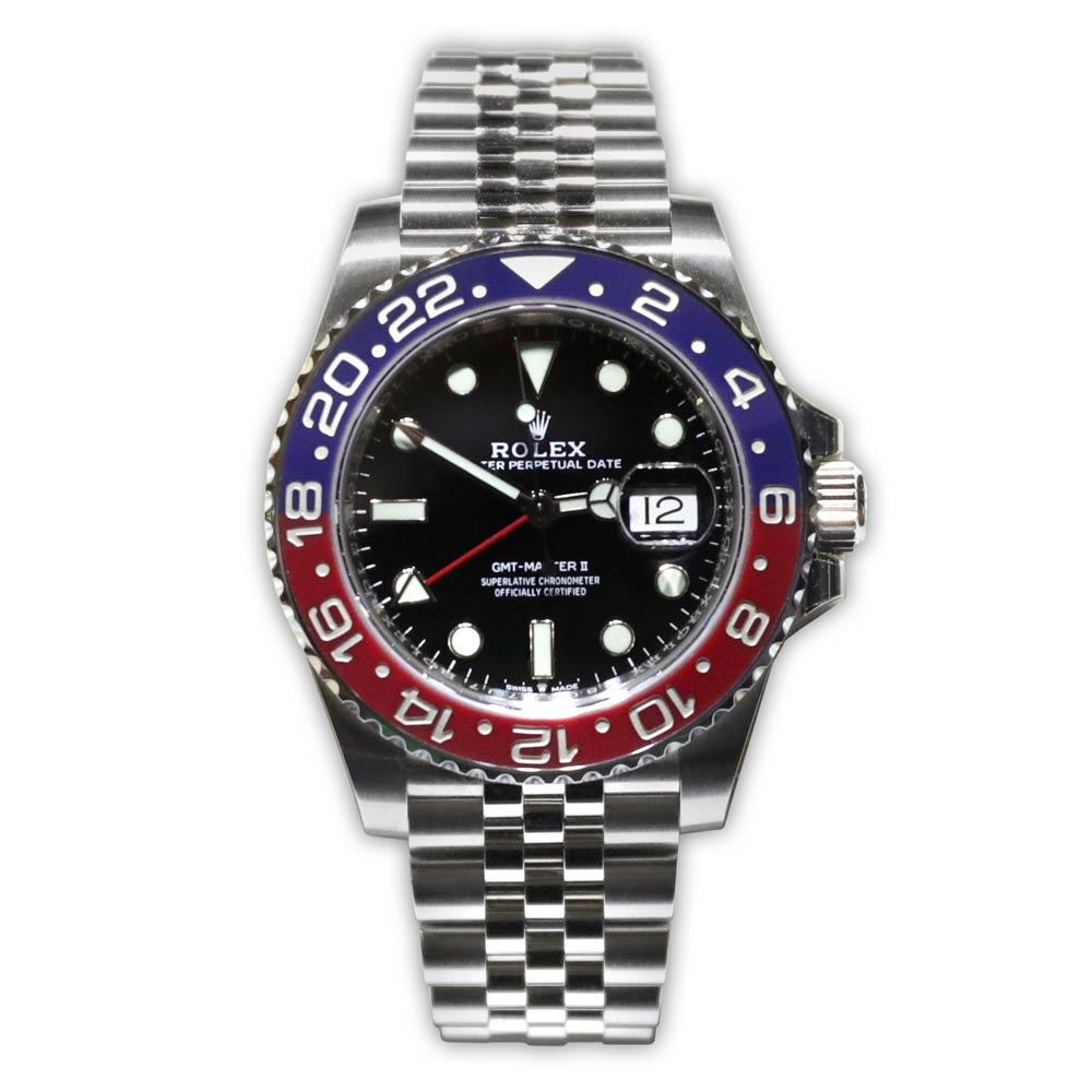 "Rolex GMT-Master II ""Pepsi"" Two-Tone Red/Blue Bezel"