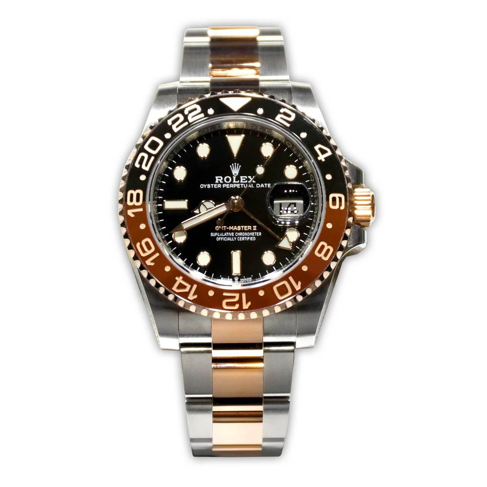 "Rolex GMT-Master II ""Rootbeer"" Two-Tone Bezel"