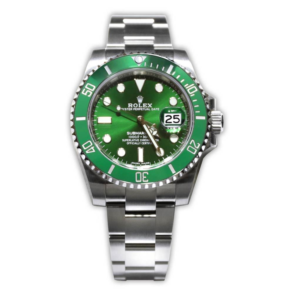 Rolex Oyster Perpetual Submariner Green Dial/Bezel