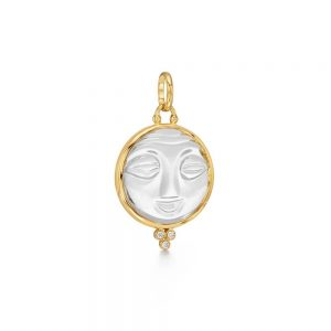 Temple St. Clair 18K Moonface Pendant